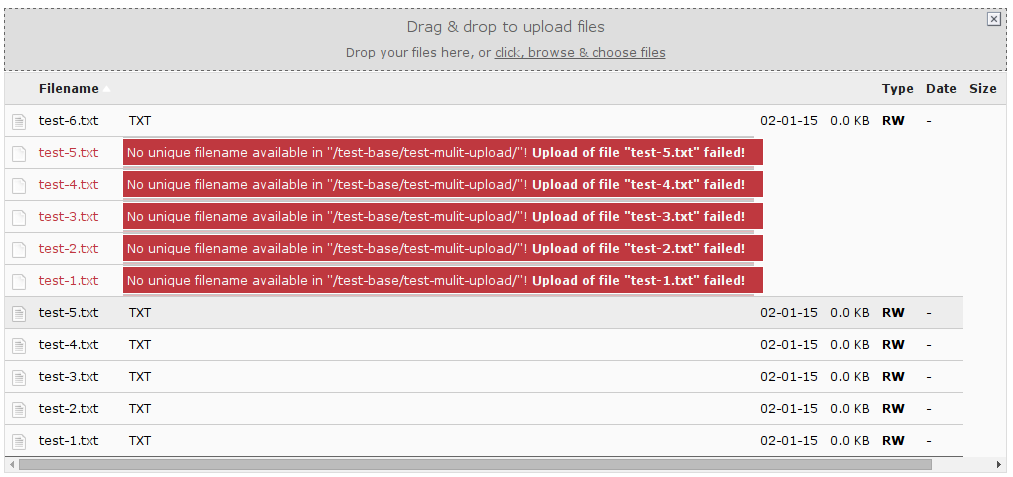 Bug #63603: Unexpected behaviour with file upload - TYPO3 Core