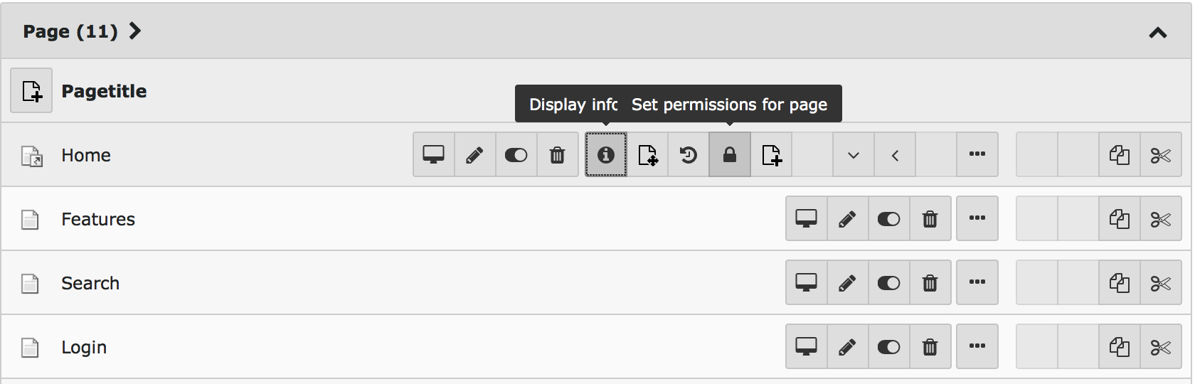 Bug #69793: hide ToolTips of Bootstrap on click - TYPO3 Core - TYPO3